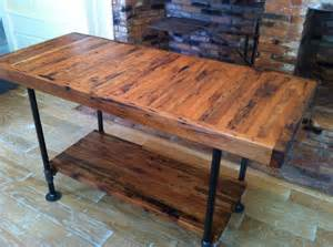 kitchen island legs wood kitchen island industrial butcher block style reclaimed wood and the legs and frame are 1