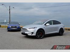 Fast SUV Comparison Tesla Model X P100D vs Audi SQ7