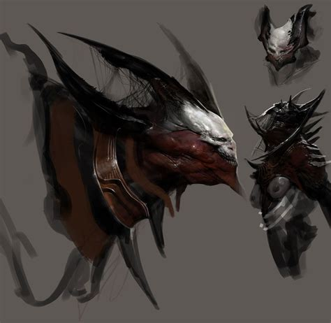 Horned Fury Concept Pictures And Characters Art God Of