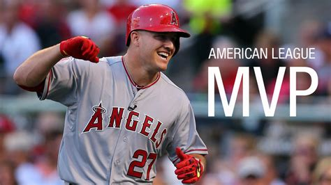 angels mike trout named  american league mvp nbc