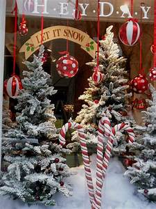 Pretty, Christmas, Storefronts