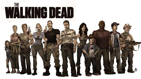Animated Walking Dead Wallpaper - the walking dead the walking dead wallpaper 1920x1080