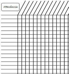attendance sheet template beepmunk
