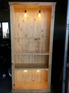 Diy, Bookcase, Industrial, Traditional, Rustic, Part, 1, U2013, Gardenisto