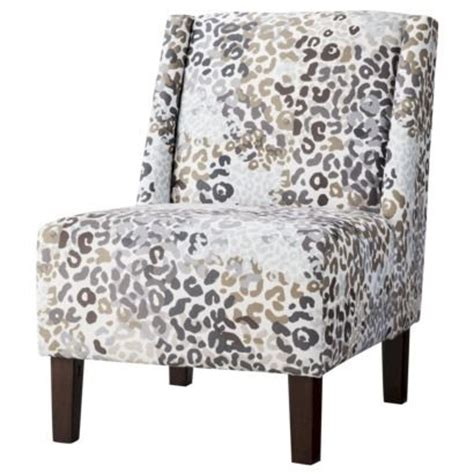 snow leopard print chair decor on sale for 142 99