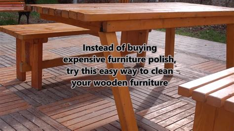Cleaning Wooden Furniture With Black Tea- Cheap&easy Way How To Refinish Antique Mahogany Furniture Car Show In West Virginia Iron Floor Candle Holders Dining Set Styles Westclox Big Ben Alarm Clock Distressed Wood Truck Door Signs Bronze Rain Shower Head