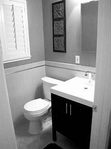 Black and white small bathroom peenmediacom for Black and white modern bathroom