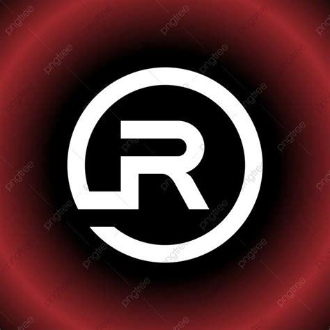 Gambar Bulat Huruf R Atau Dr Vektor Bentuk Logo Ikon