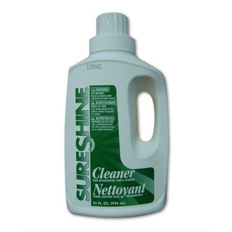 vinyl flooring cleaning tarkett sureshine vinyl floor cleaner 32 oz tools4flooring com
