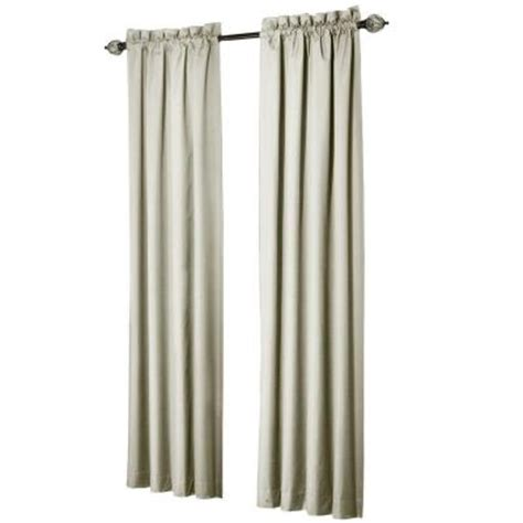 Thermalogic Curtains Home Depot by Sun Zero Brighton Ivory Thermal Lined Curtain Panel Price