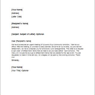rush order request letter writelettercom