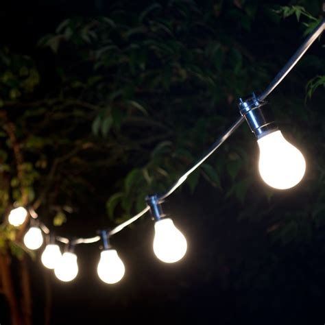 weatherproof lighting festoons 50 bulbs lyco direct