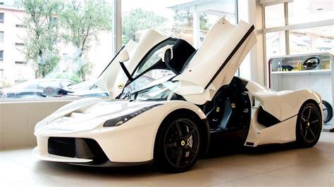 white ferrari laferrari luxury hd youtube