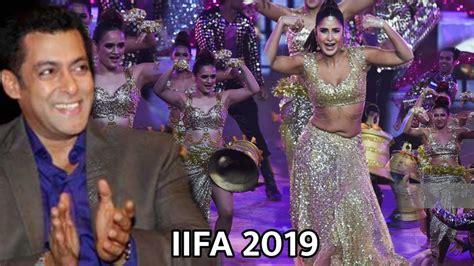 salman khan cheering  katrina kaif performance  iifa
