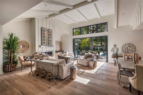 how to a small kitchen island breathtaking modern farmhouse style retreat in napa valley