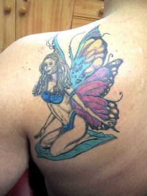 Elfe Papillon  Tatouage Amazone