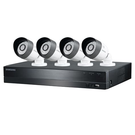 samsung security system samsung 1tb dvr security system 720p 4 channel 4