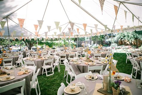 Wedding Reception In Backyard by Diy Backyard Bbq Wedding Reception
