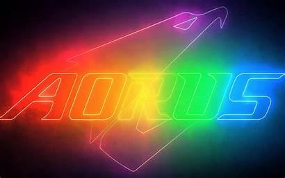 Aorus Gigabyte Rgb Desktop 4k Gaming Neon
