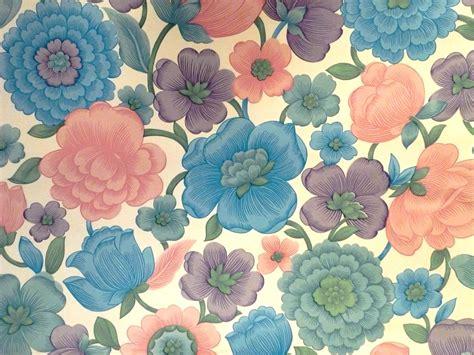 papier peint anglais fleurs
