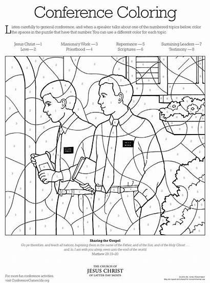 Lds Coloring Pages Interesting