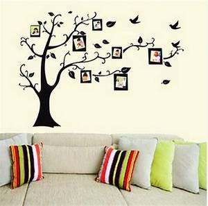 Stickers Arbre Photo : sticker arbre photos noir stickers muraux ~ Teatrodelosmanantiales.com Idées de Décoration
