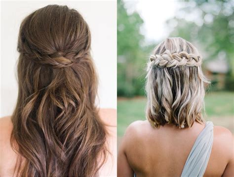 bridesmaid hairstyles 2018 inspiration tendencies tips