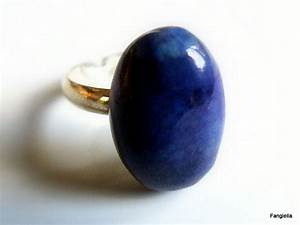 Pierres Précieuses Bleues : bague lapis lazuli d 39 afghanistan pierre semi pr cieuse ~ Nature-et-papiers.com Idées de Décoration