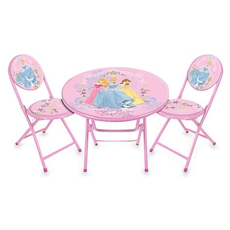 disney princess table and chairs disney princess table and chairs set bed bath beyond