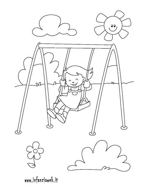 disegni di parco giochi parco giochi da colorare disegni imagixs sketch coloring page