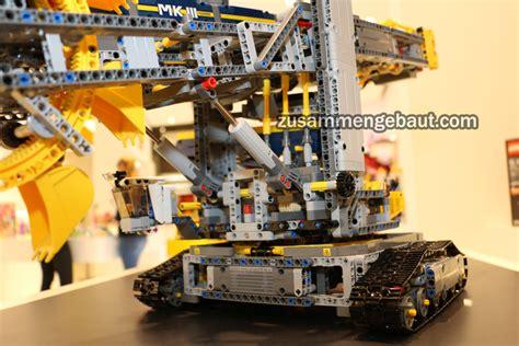 lego technic 42055 fair 2016 lego technic wheel excavator