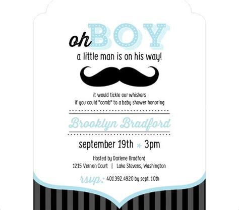 unique baby shower invitations word psd ai