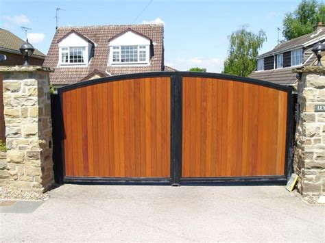 wood gates pictures automated residential metal and wooden gates
