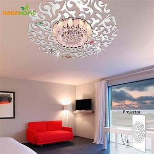 Creative 3D Home Decor Mirror Wall Stickers Living Room ...