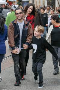 Fall Out Boy's Pete Wentz takes sons and partner Meagan ...