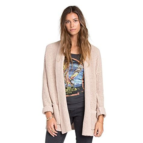 Billabong Backed Up Sweaters billabong junior s tripped up oversized cardigan chunky