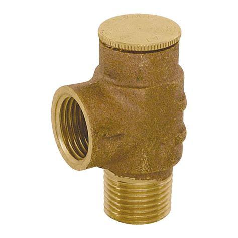 Outdoor Faucet Pressure Relief Valve by Eastman 1 2 In Brass Ips Pressure Relief Valve 20491lf