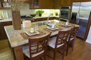 granite top kitchen islands 36 eye catching kitchen islands interiorcharm