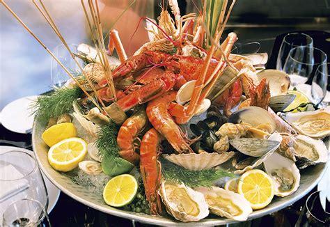 buffet cuisine buffet de la mer restaurant la table du cantemerle à vence