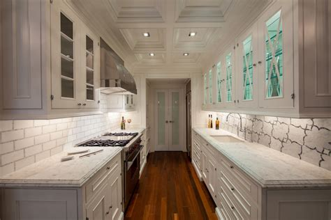 frosted glass pantry doors transitional kitchen