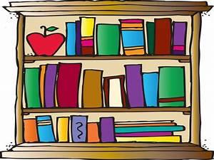 Bookshelf clipart - Clipground