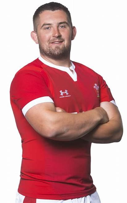 Jones Wyn Wales Rugby Prop Welsh Player