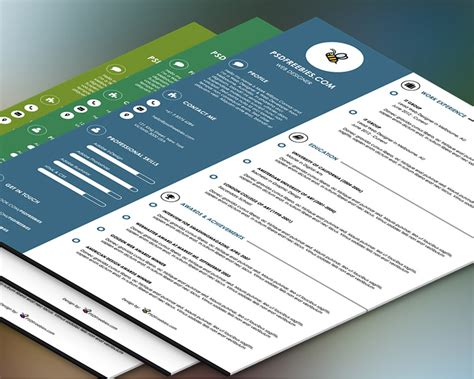 Graphic Designer Resume Templates Word by 35 Best Free Resume Design Templates Themecot
