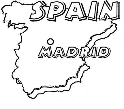 click   printable version  map  spain madrid