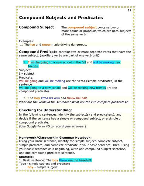 combine 2 sentence to form compund and complex sentence worksheet 13 14 second semester grammar 1 simplebooklet