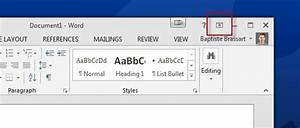 Office Tip: Restore or minimize the Ribbon interface in ...