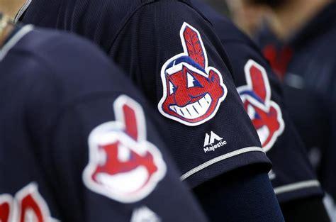 chief wahoo defense indians cleveland arguable baseball uniforms mascot orioles baltimore globe boston game june anthem national semansky patrick against
