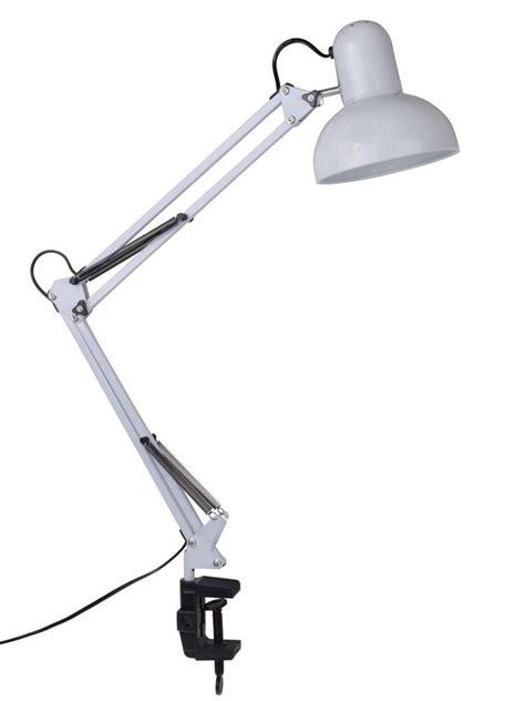 white swing arm cl mount office studio home table desk l light ebay