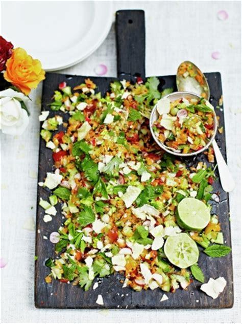 Indian Chopped Salad | Vegetable Recipes | Jamie Oliver
