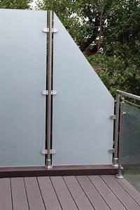 13 besten windschutz und sichtschutz bilder auf pinterest With whirlpool garten mit edelstahl balkon mit glas